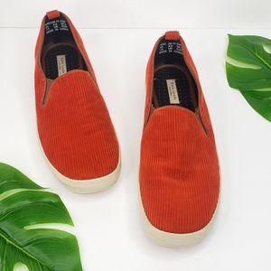 Kate Spade Corduroy Slip On Sneaker Shoe 8.5 EUC